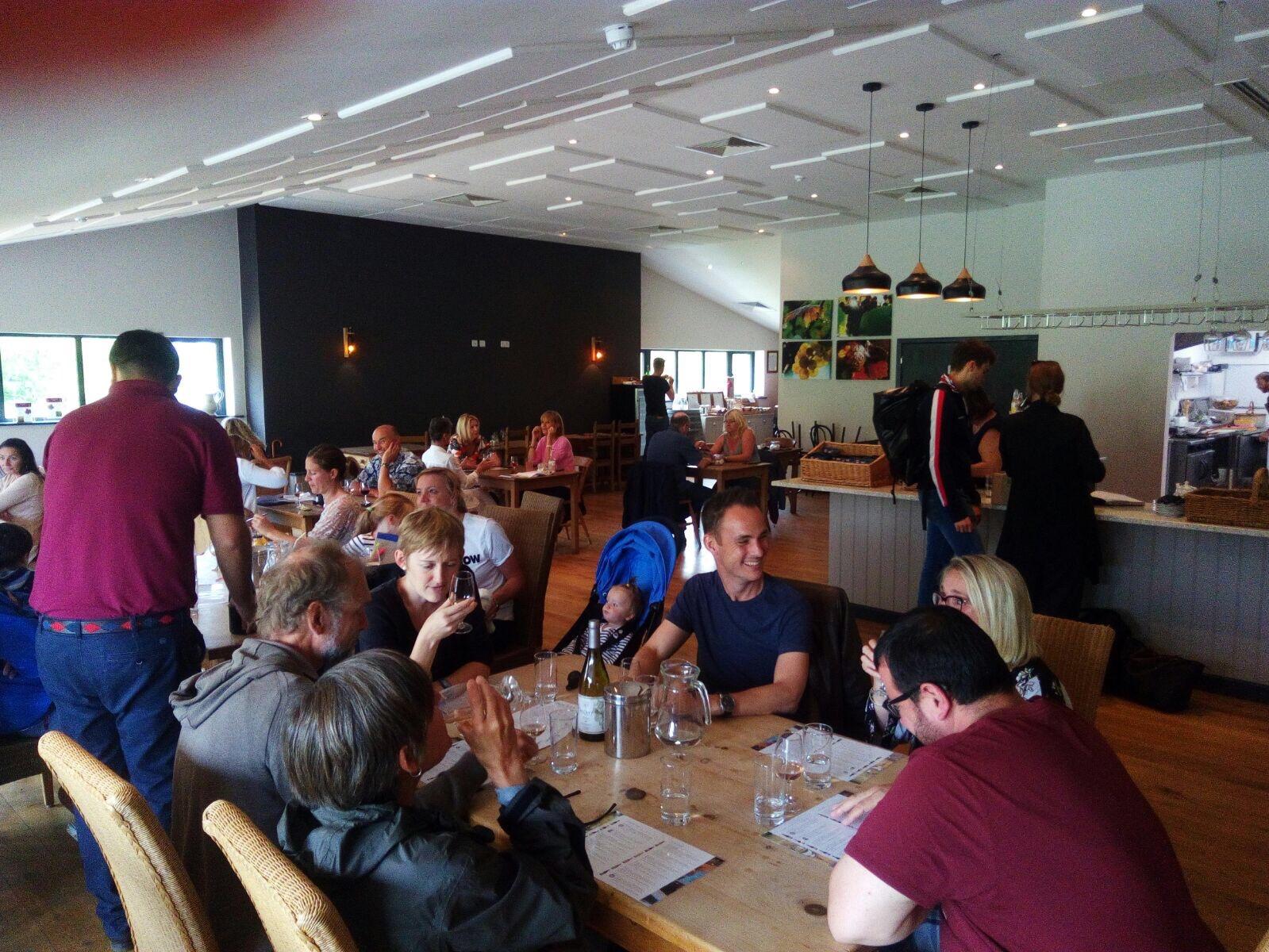 Bolney vineyard cafe