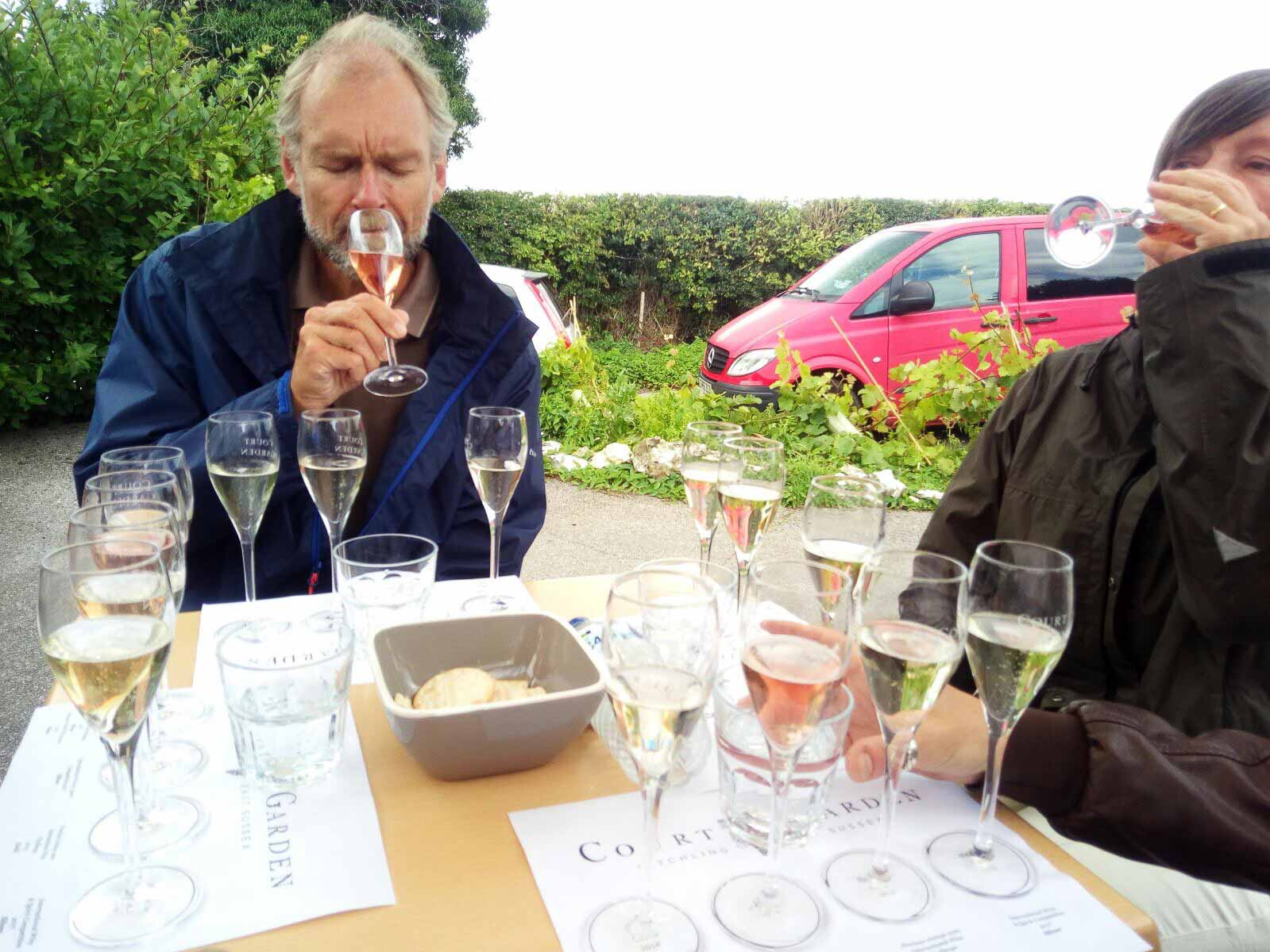 Great British Wine Tours - Court Garden Wine Tasting