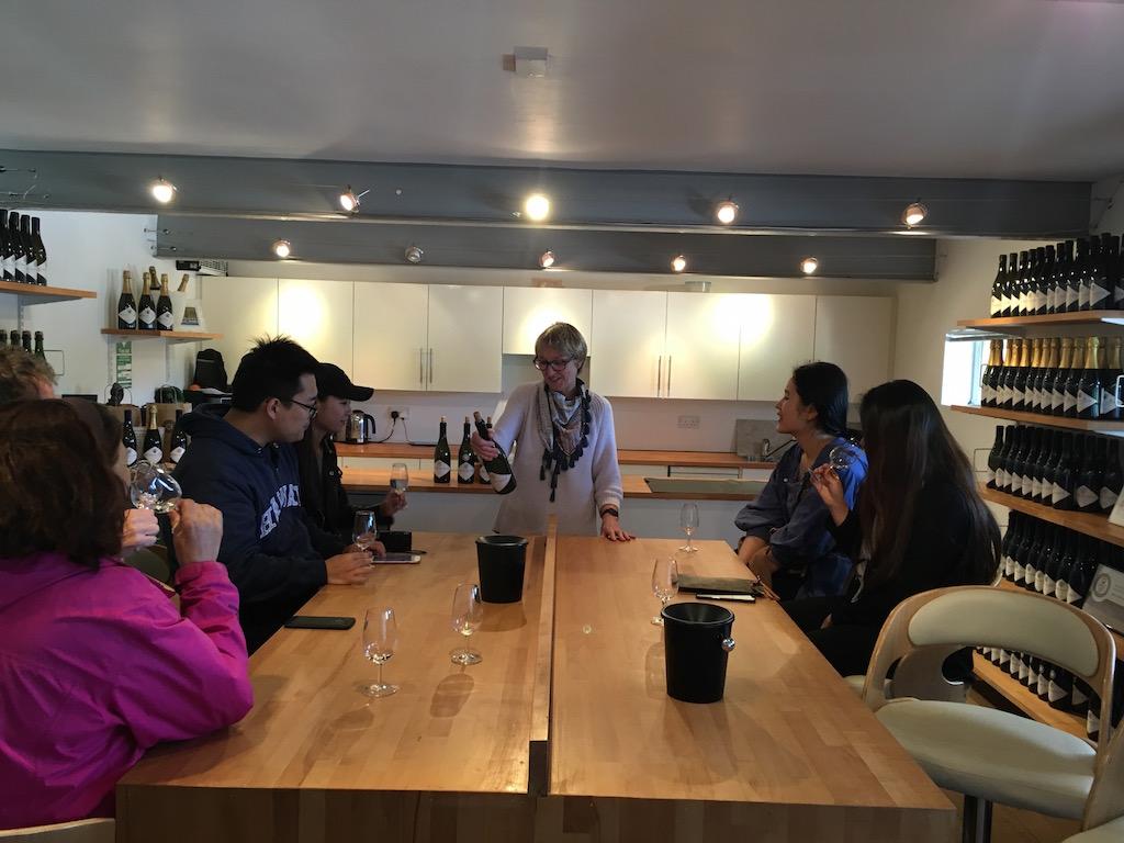 tutored wine tasting at Kingscote Estate Vineyard