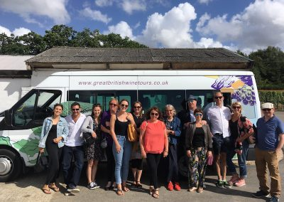 Sussex wine tour group