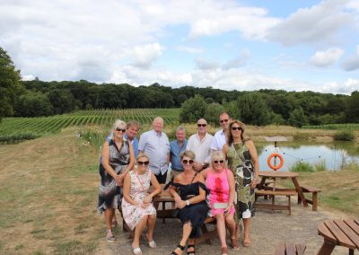 Birthday Group Tour at Bluebell Vineyard